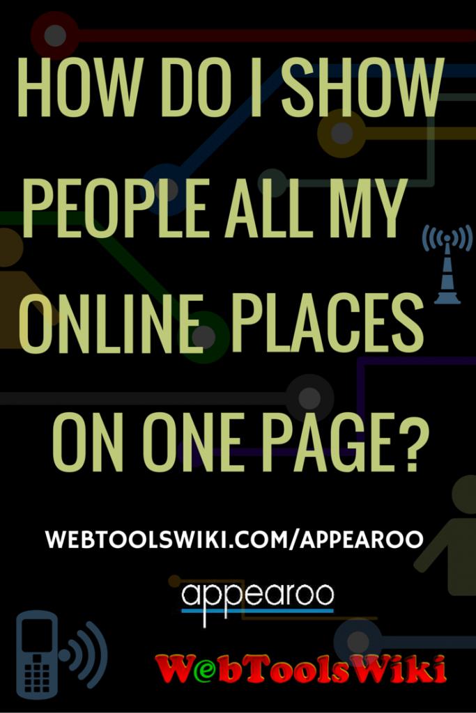 Appearoo #WebToolsWiki