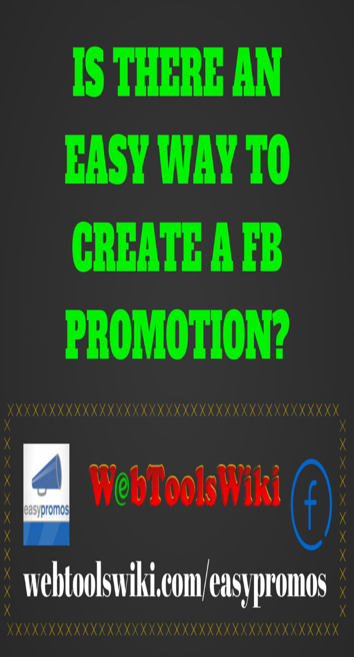 Is there an easy way to create a FB promotion?