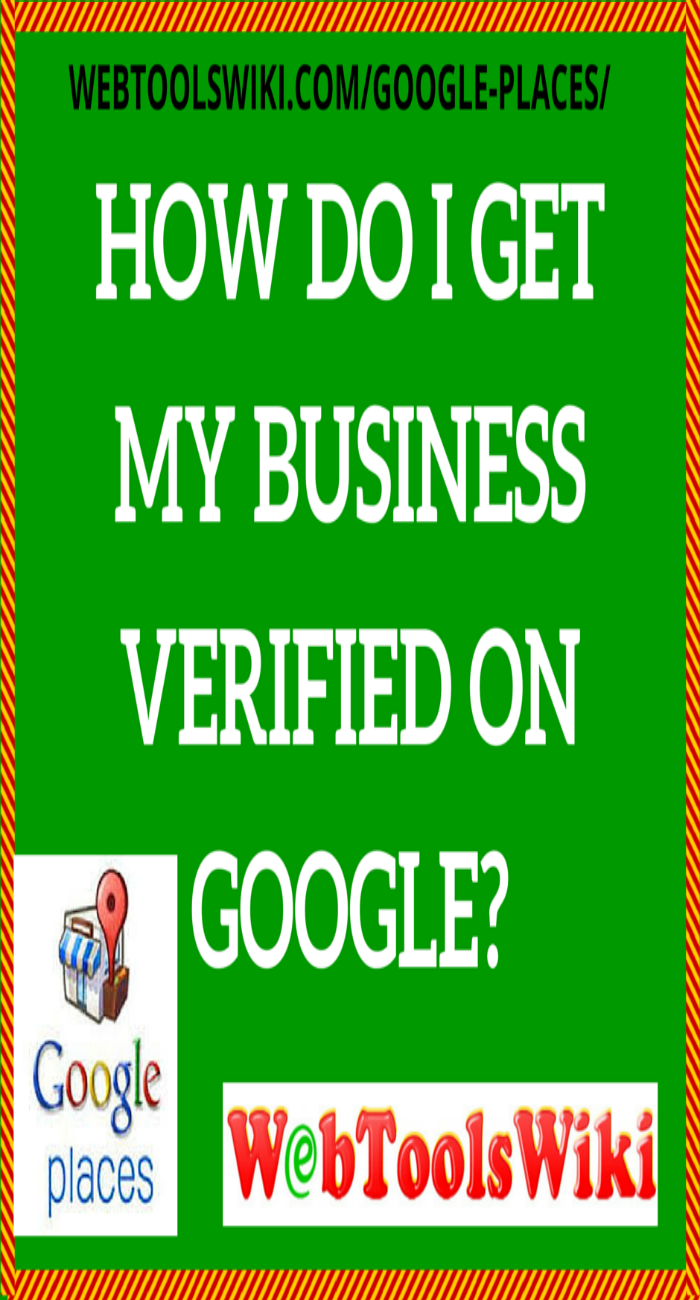 How do I get my business verified on Google?