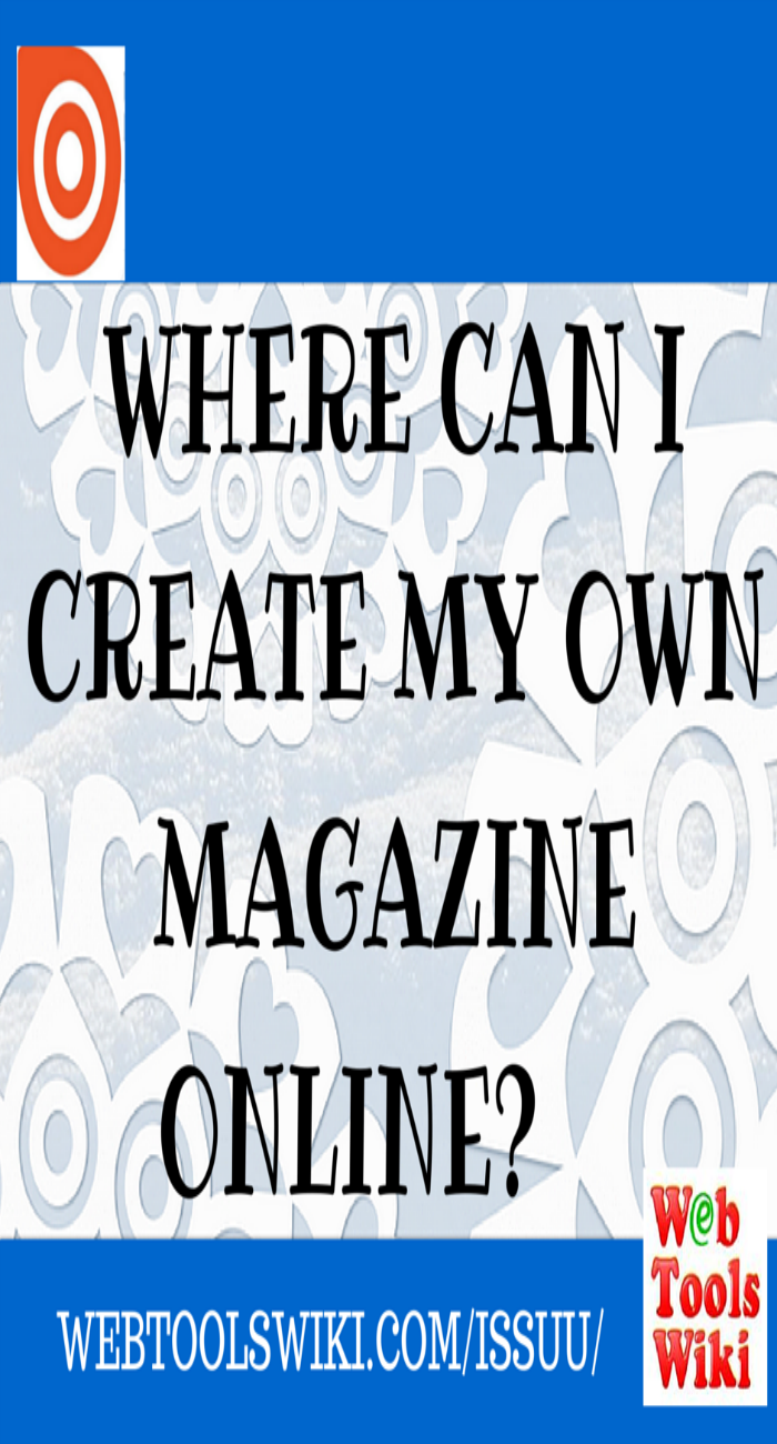 Where Online Can I Create My Own Magazine?