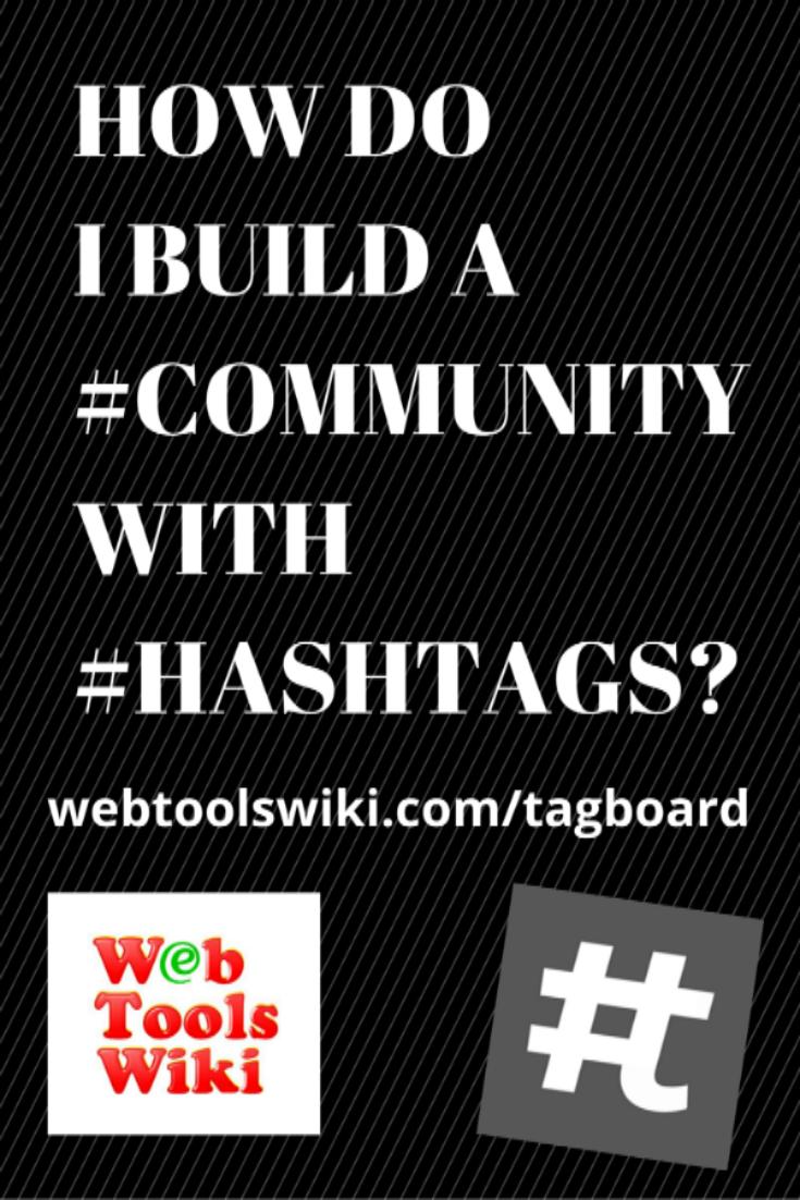 #Tagboard #WebToolsWiki