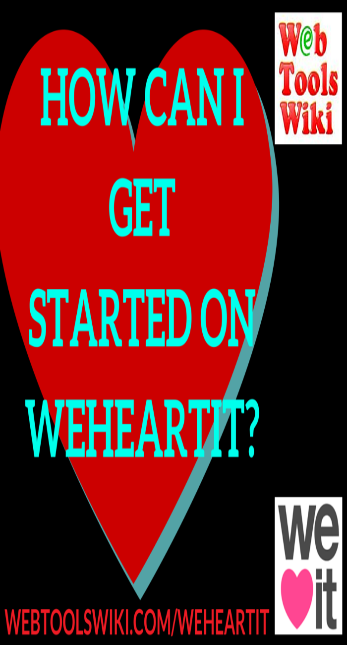 How can I get started on WeHeartIt?