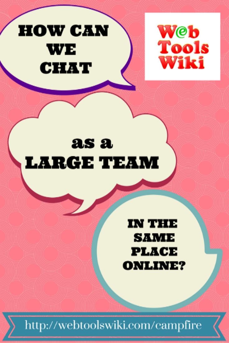 #Campfire #WebToolsWiki