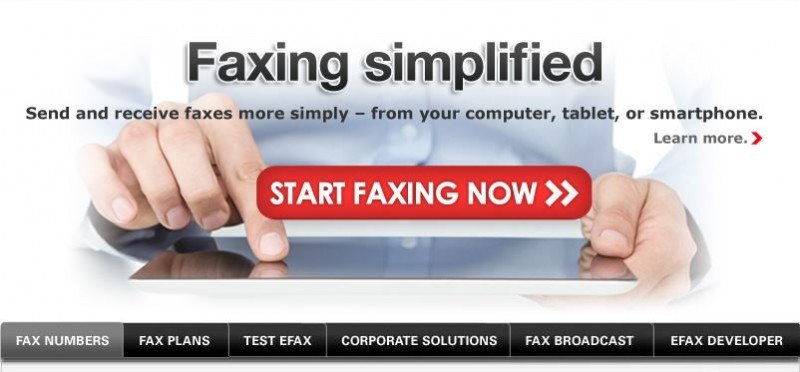 Efax Faxing Simplified