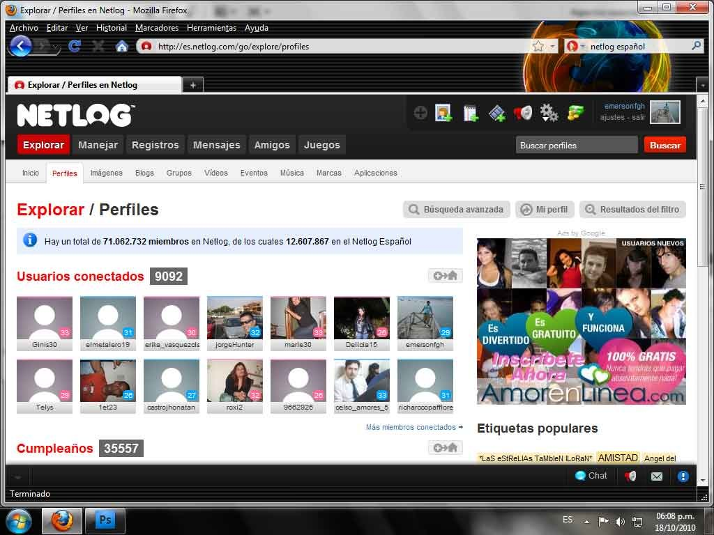 Netlog-captura-pantalla