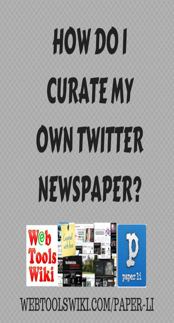 How Do I Curate My Qwn Twitter Newspaper?