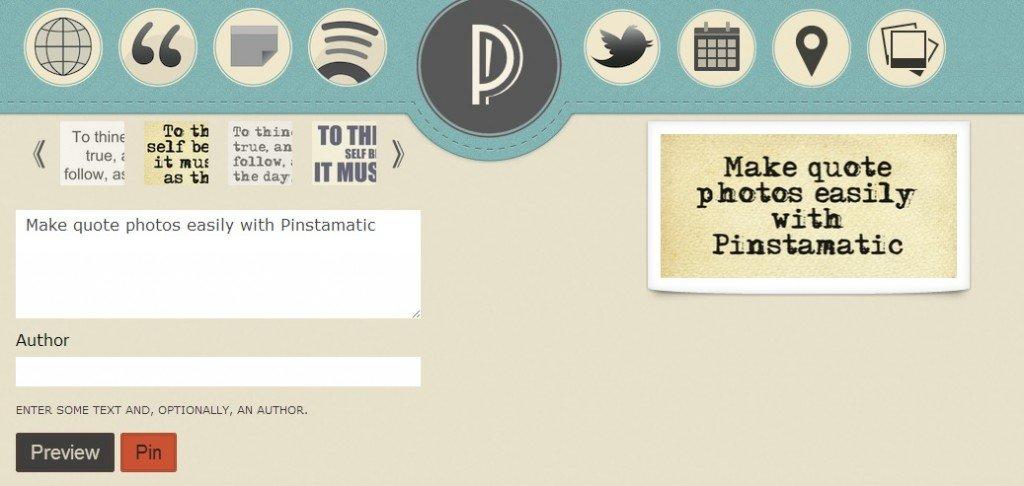 Pinstamatic Dashboard