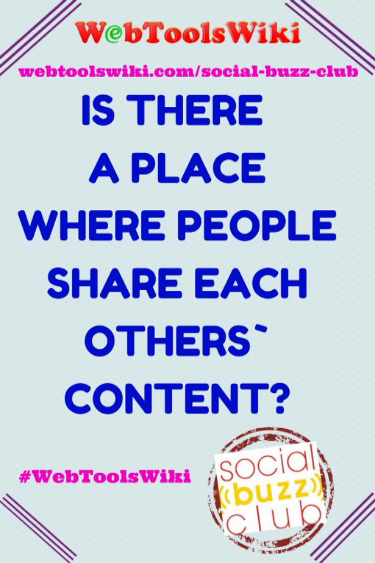 #Socialbuzzclub #WebToolsWiki