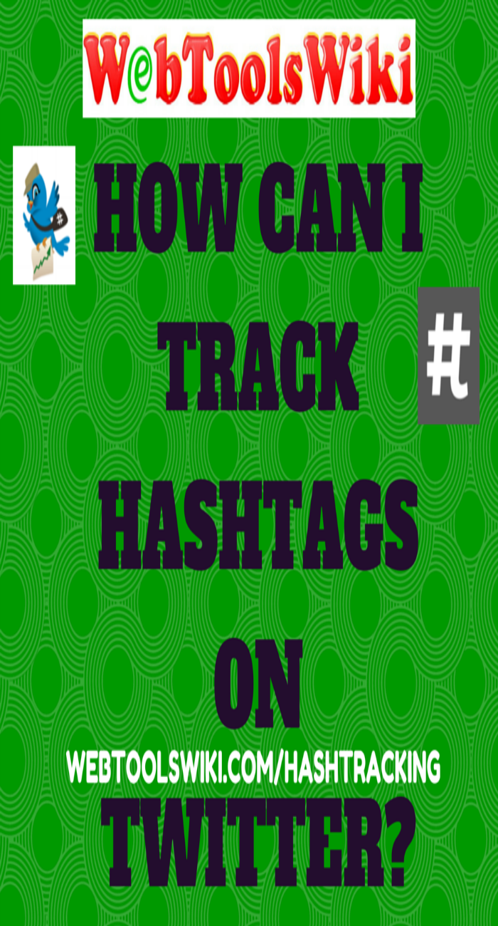 How can I track hashtags on Twitter?
