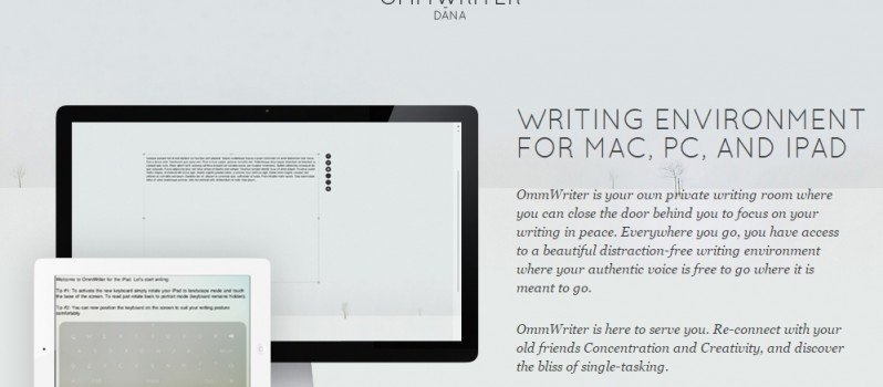 Focus on Your Writing with Ommwriter #WebToolsWiki