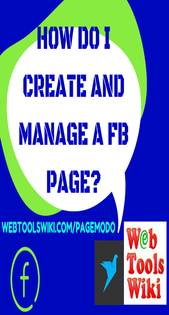 How Do I Create And Manage A FB Page?