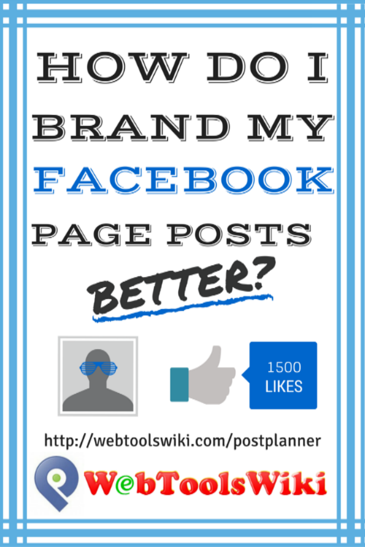 #PostPlanner #WebToolsWiki