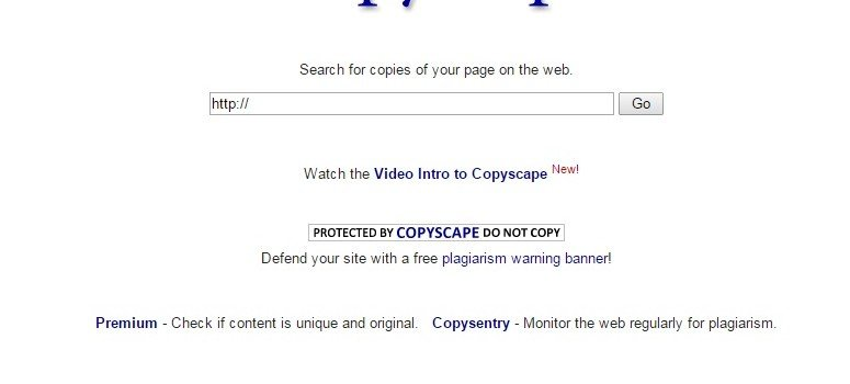 Avoid Duplicate Content With Copyscape #WebToolsWiki
