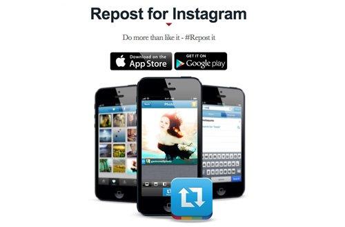 приложение для репоста фото в инстаграм