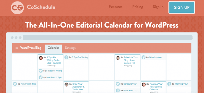 Share Blog Posts on Social Media via Coschedule #WebToolsWiki