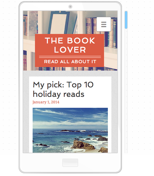 Literature Blog Website Template   WIX