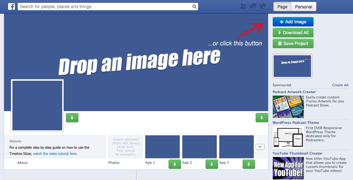 Create Unique Timeline Photos with Timeline Slicer incomepress – Sample Facebook Timeline