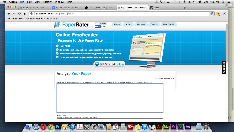 fix grammar w paperrater paperrater webtoolswiki