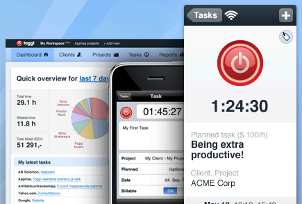 Monitor Your Time Online with Toggl #WebToolsWiki