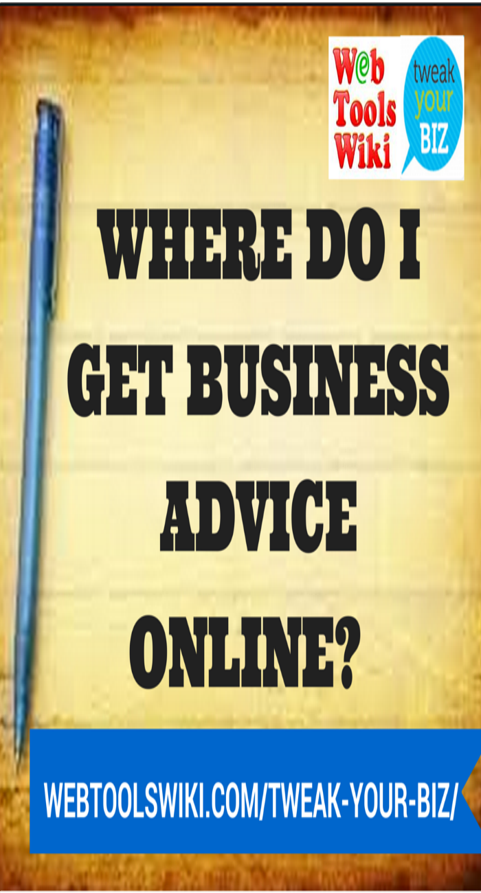 Where Do I get Business Advice Online?