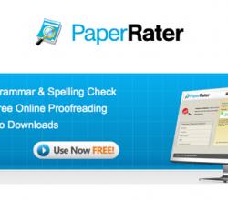 Fix Grammar W/ PaperRater @PaperRater #WebToolsWiki