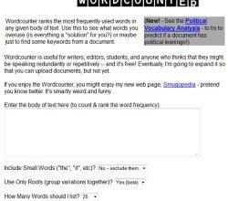Keep Track of Words with WordCounter @WordCounter #WebToolsWiki
