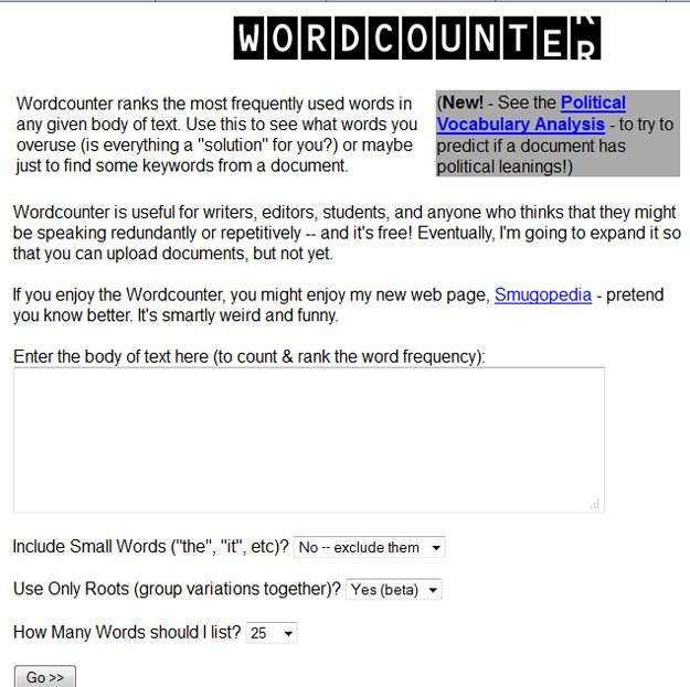 Keep Track of Words with WordCounter @WordCounter #WebToolsWiki
