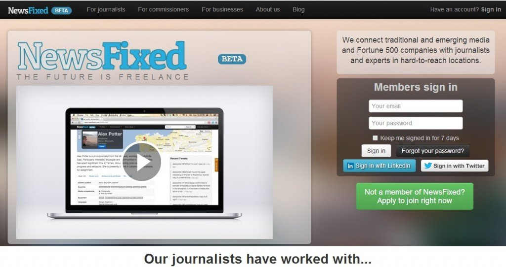NewsFixed website