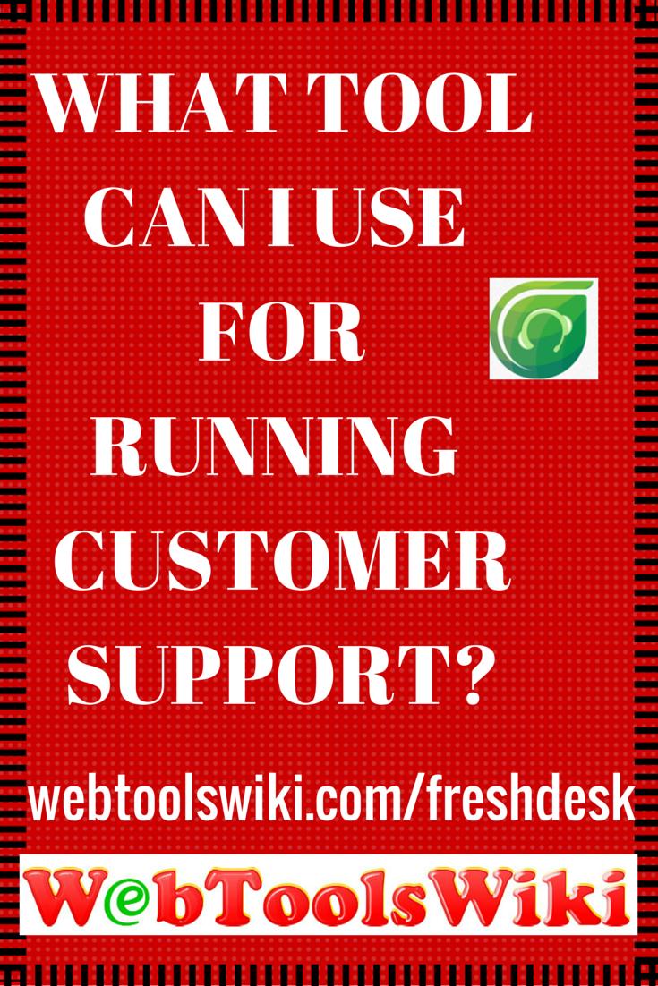#Freshdesk #WebToosWiki