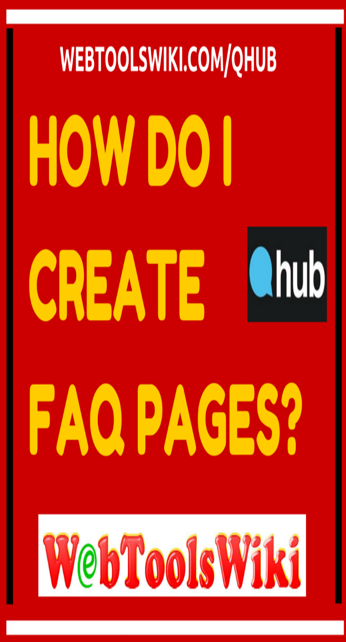 How Do I Create FAQ pages?