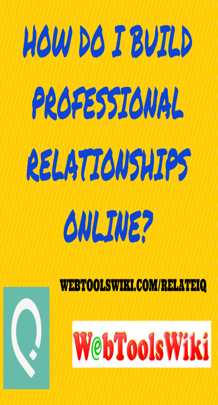 How Do I Build Professional Relationships Online?