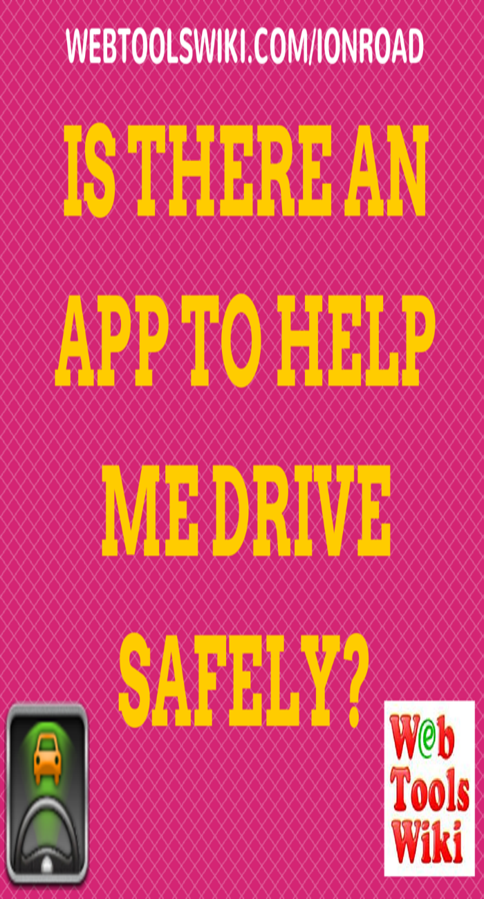 Is there an app to help me drive safely?