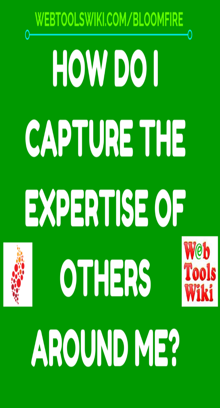 How Do I Capture The Expertise Of Others Around Me?