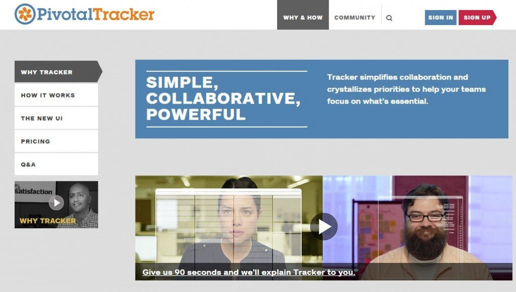 Manage Projects via Pivotal Tracker #WebToolsWiki