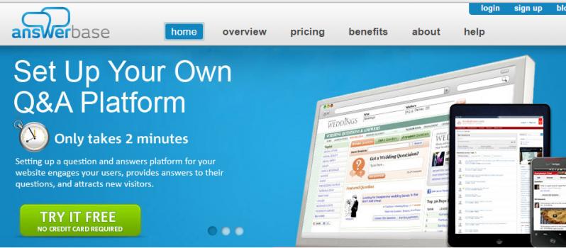 Setup a Q&A Page via Answerbase #WebToolsWiki