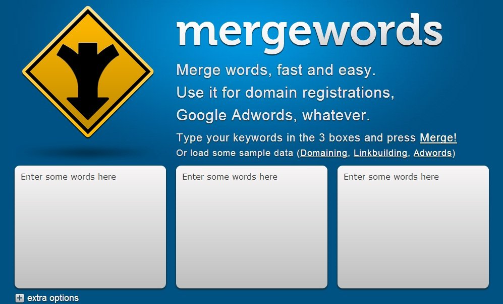 mergewords screenshot
