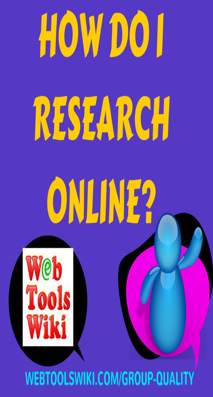 How do I do research online?