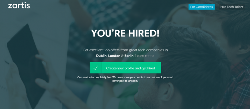 Find the Best Talent via Zartis #WebToolsWiki