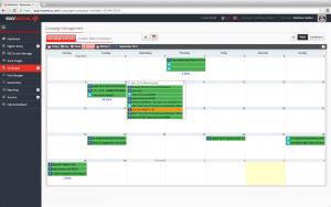 MavSocial day-week-month Camapign Calendar Screenshot