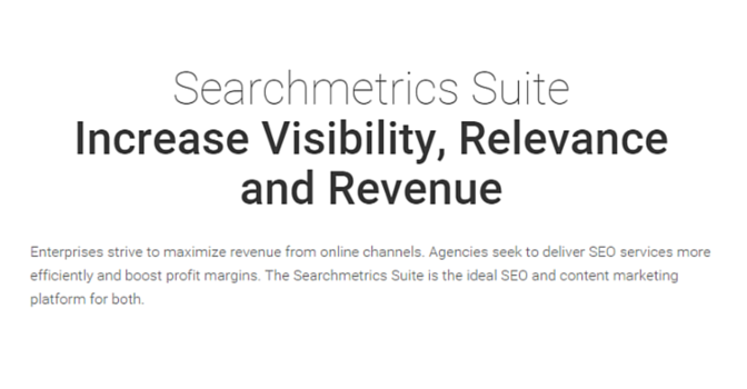 How To Use Searchmetrics; @Searchmetrics #WebToolsWiki