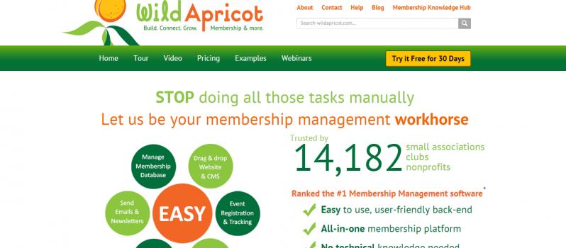 Wild Apricot #WebToolsWiki