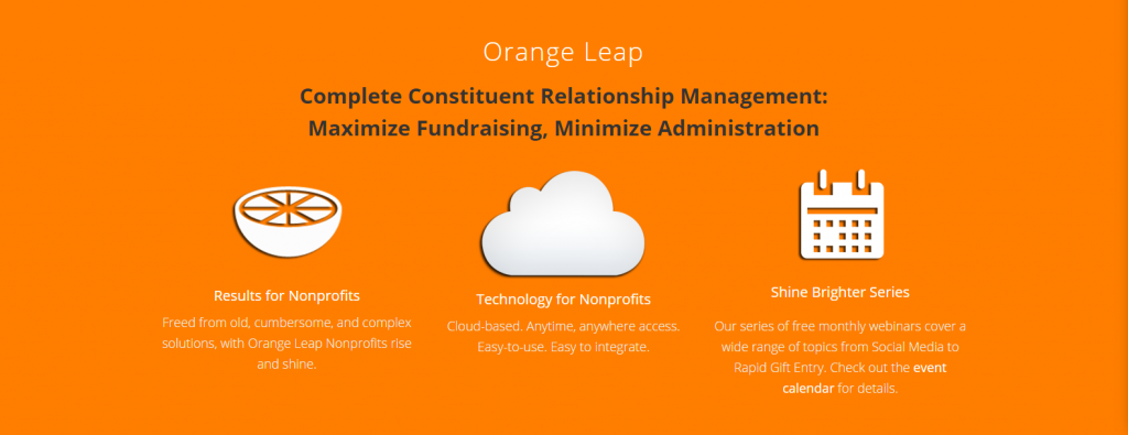 Manage your Non Profits Donor list more effectively with Orange Leap