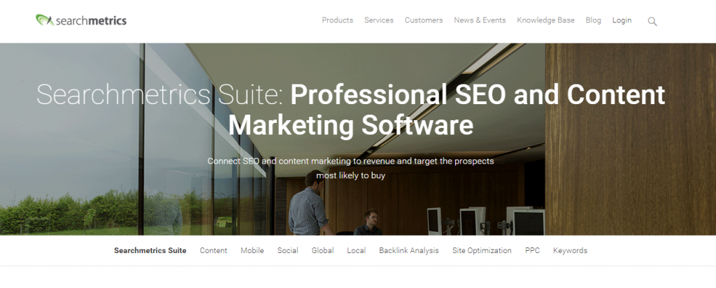 Searchmetrics Suite Professional SEO Analysis