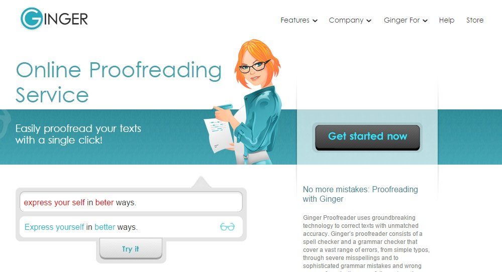 Proofread Your Work With Ginger #WebToolsWiki