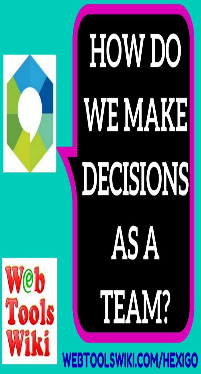 How Do We Make Decisions As A Team?