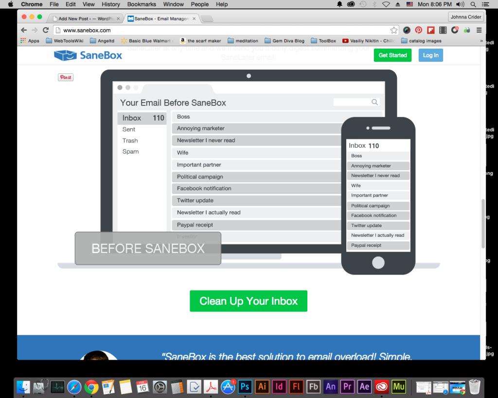 Clean UpYour Inbox w/ SaneBox @SaneBox #WebtoolsWiki