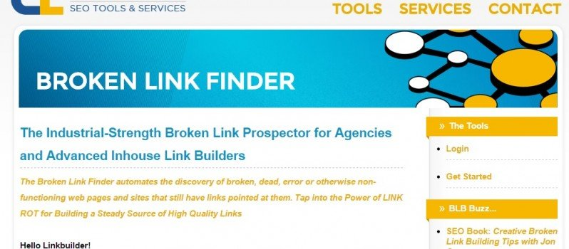 Check Broken Links via Broken Link Finder #WebToolsWiki