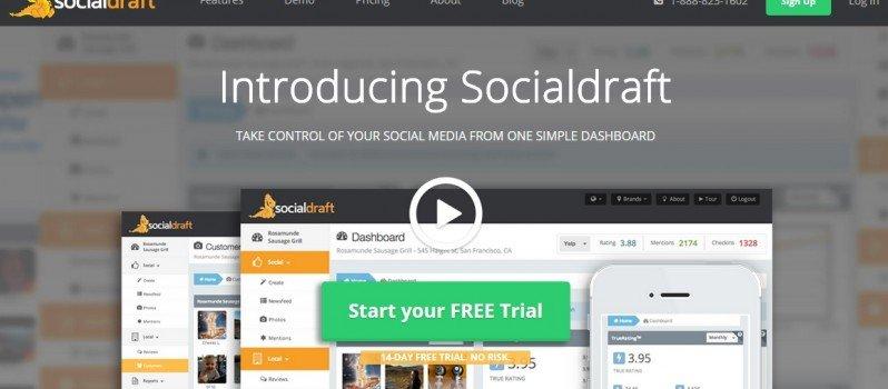 Monitor Social Networks with SocialDraft #WebToolsWiki