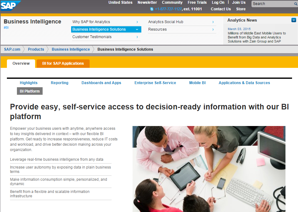 SAP business objects